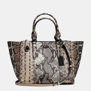 COACH Carryall Exotic Embossed Leather - NWT RARE!